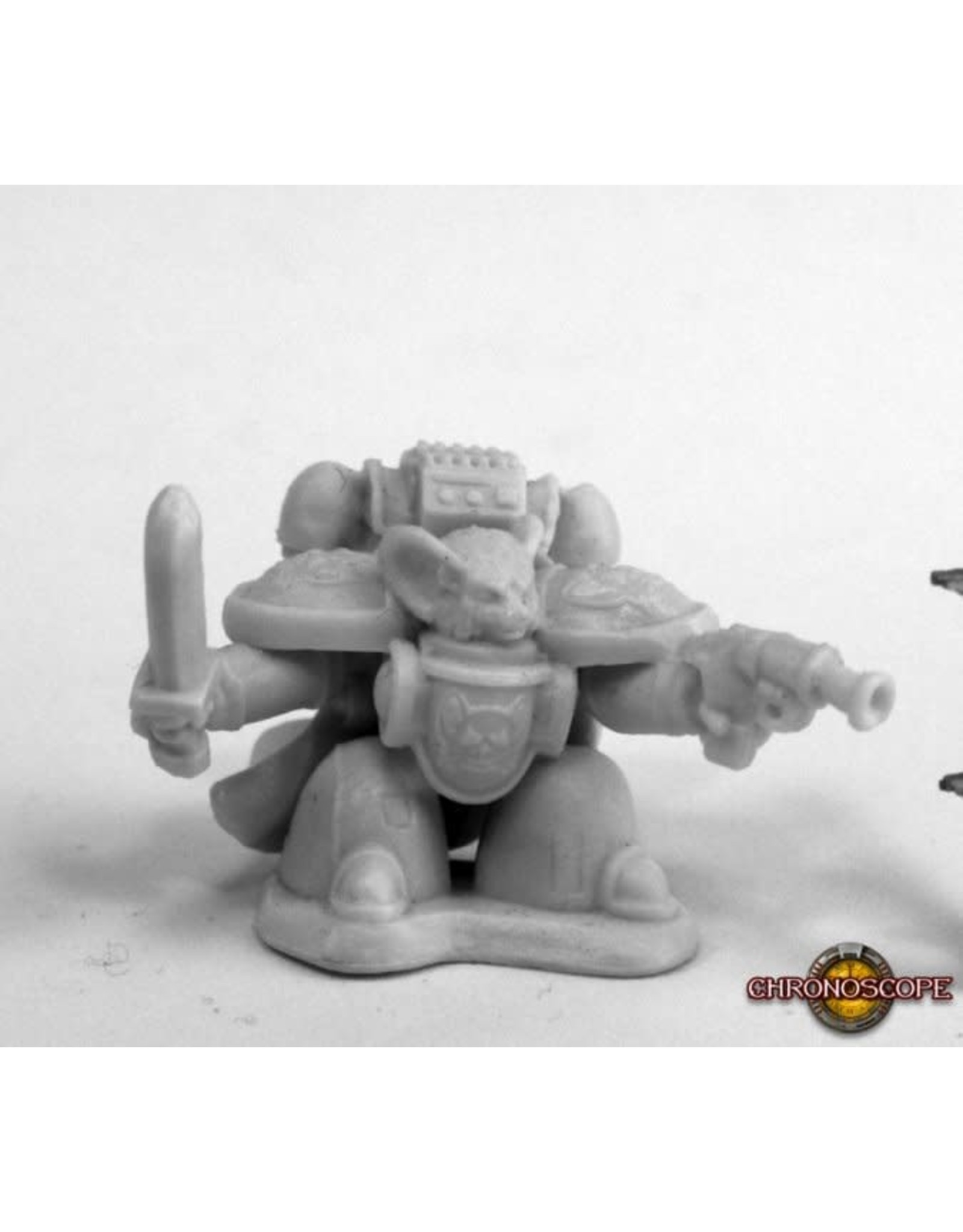 Reaper Miniatures Bones Space Mousling Commander