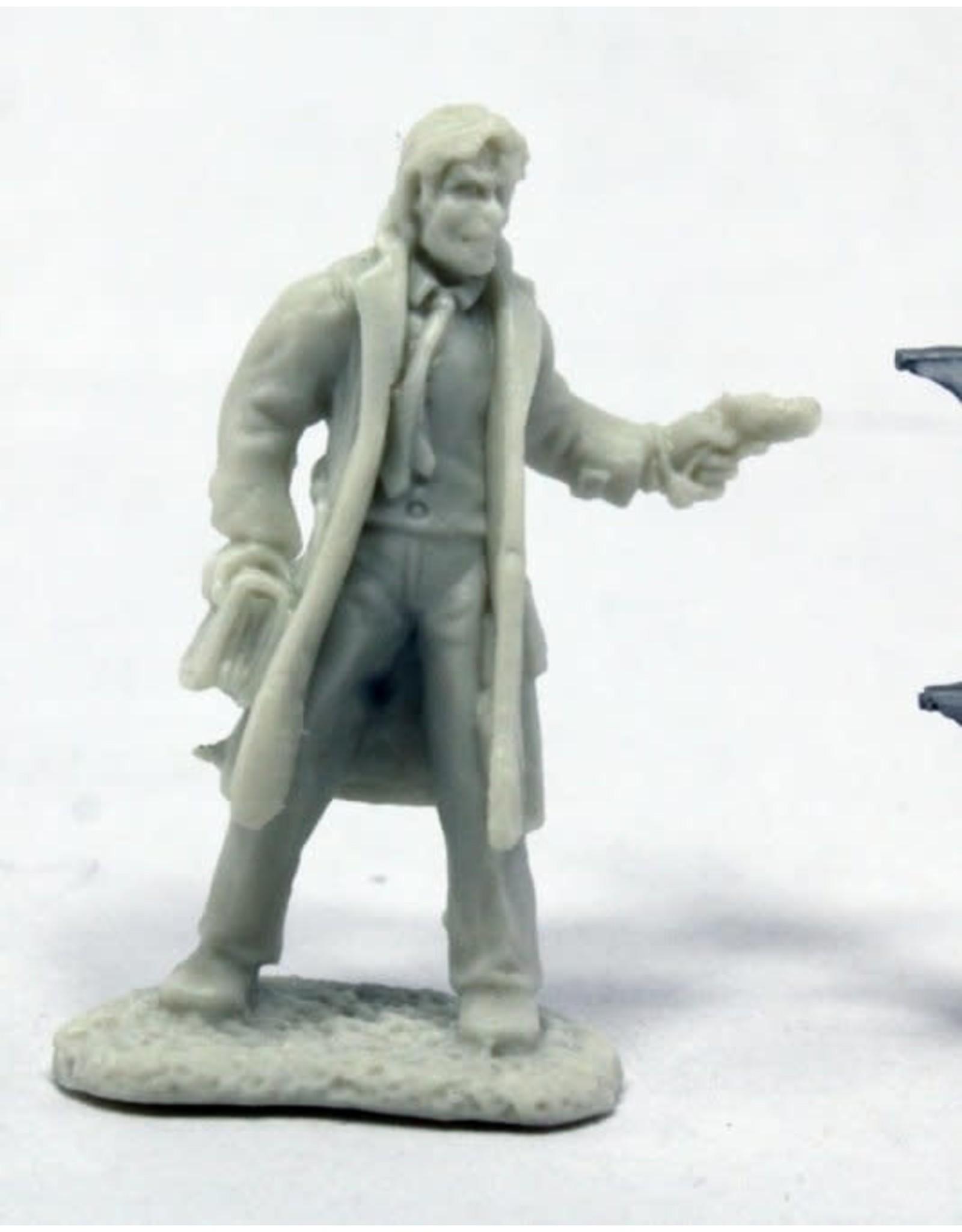 Reaper Miniatures Bones: Deadland Noir Occult Detective