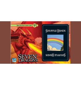 Looney Labs Shuffle Hands: Promo Postcard seven dragons