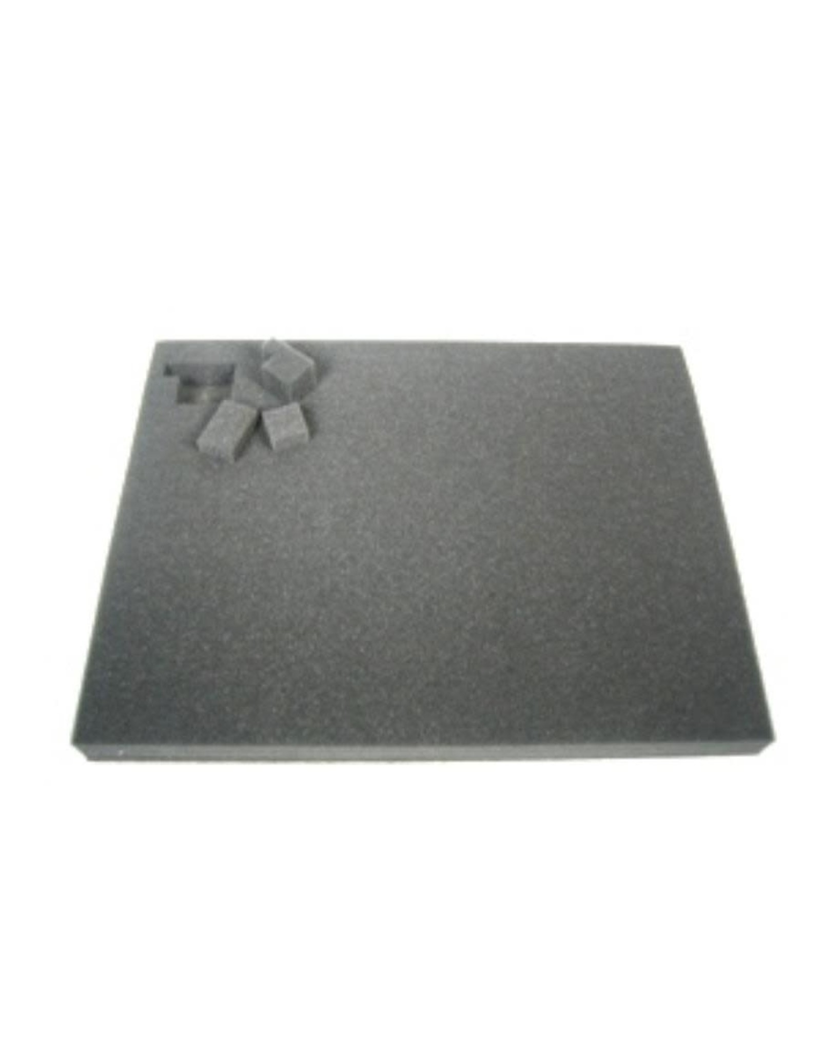Battlefoam 1.5 Inch Pluck Foam Tray for the Shield/Spear Bag (GW) 14.25W x 10.25L x 1.5H