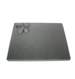 Battlefoam 1.5 Inch Pluck Foam Tray for the Shield/Spear Bag (GW) 14.25W x 10.25L x 1.5H