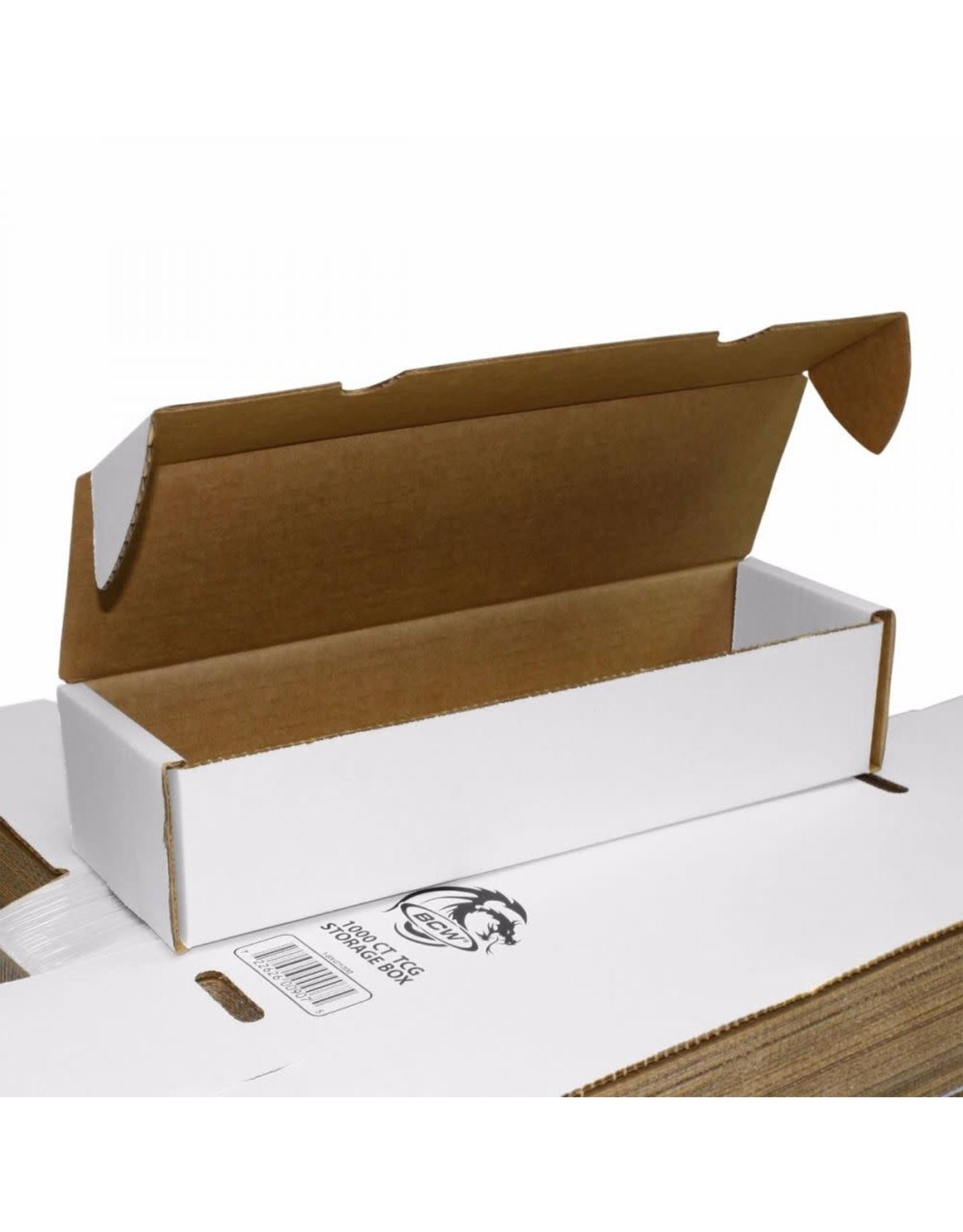 BCW 1000 count storage box