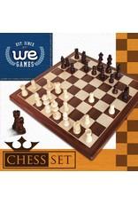 "Wood Expressions 12"" Walnut Chess Set"