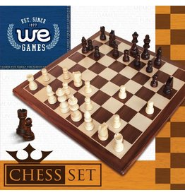 "Wood Expressions 12"" Walnut Chess Set"