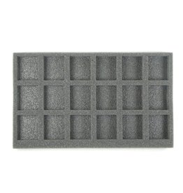Battlefoam 18 Large Model Foam Tray (SD) 13W x 7.75L x 2H