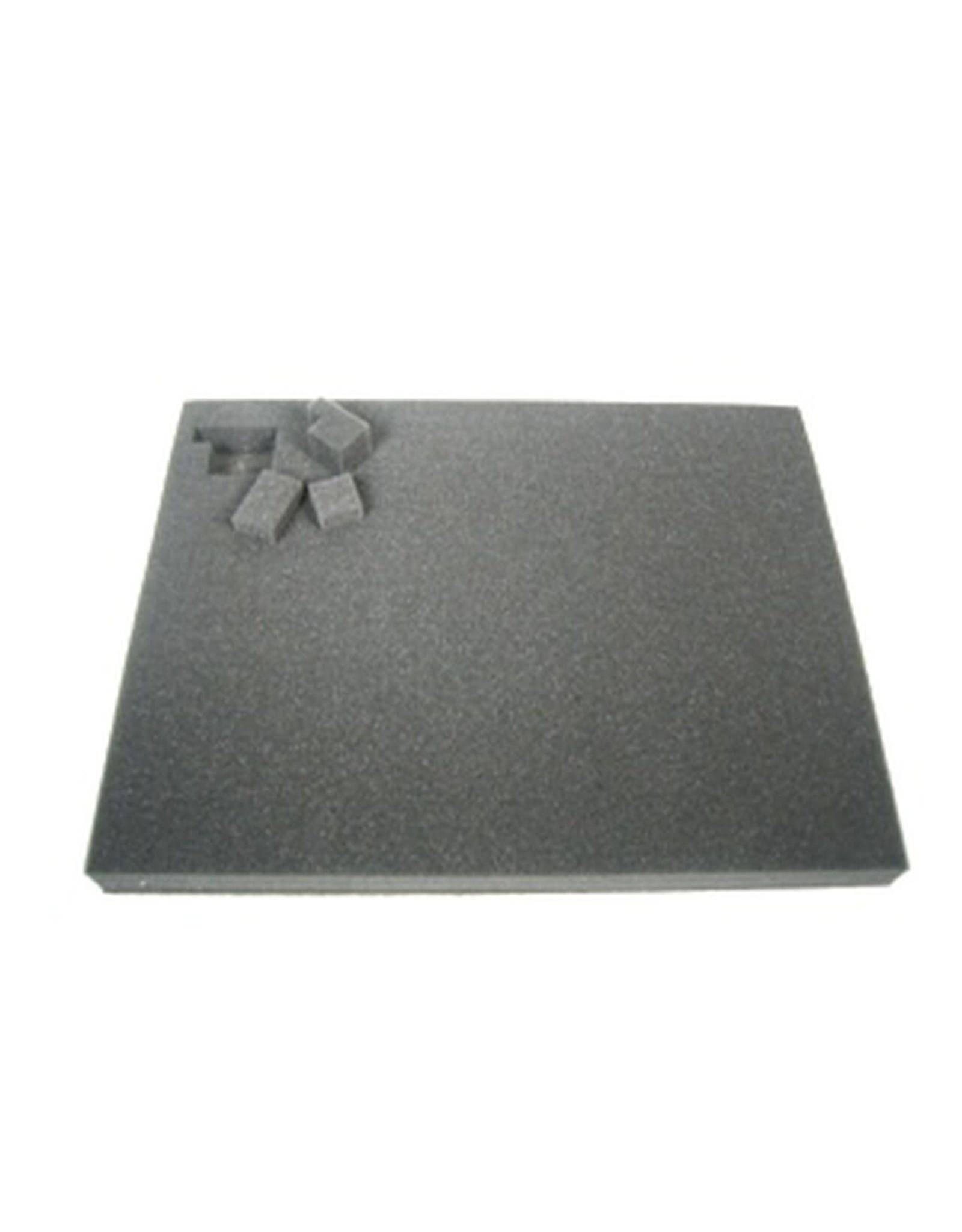 Battlefoam 2 Inch Pluck Foam Tray for the Shield/Spear Bag (GW) 14.25W x 10.25L x 2H