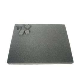 Battlefoam 2 Inch Pluck Foam Tray for the Shield/Spear Bag (GW) 14.25W x 10.25L x 2H