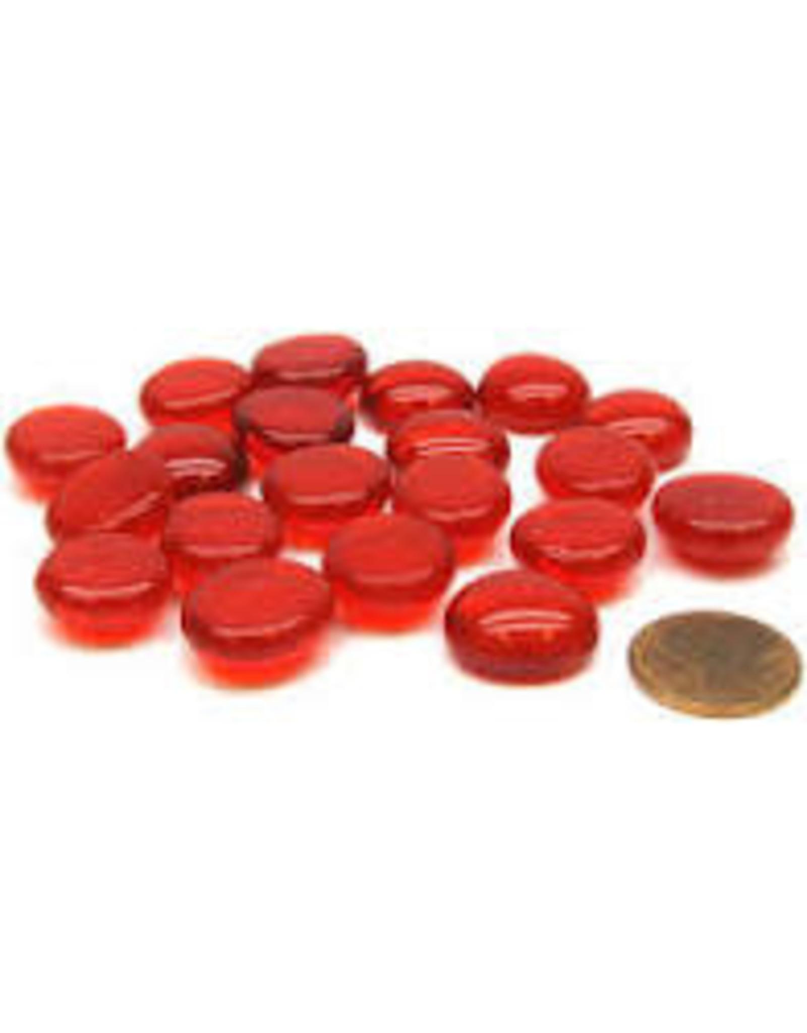 Koplow Games 20 LIFE STONES RED