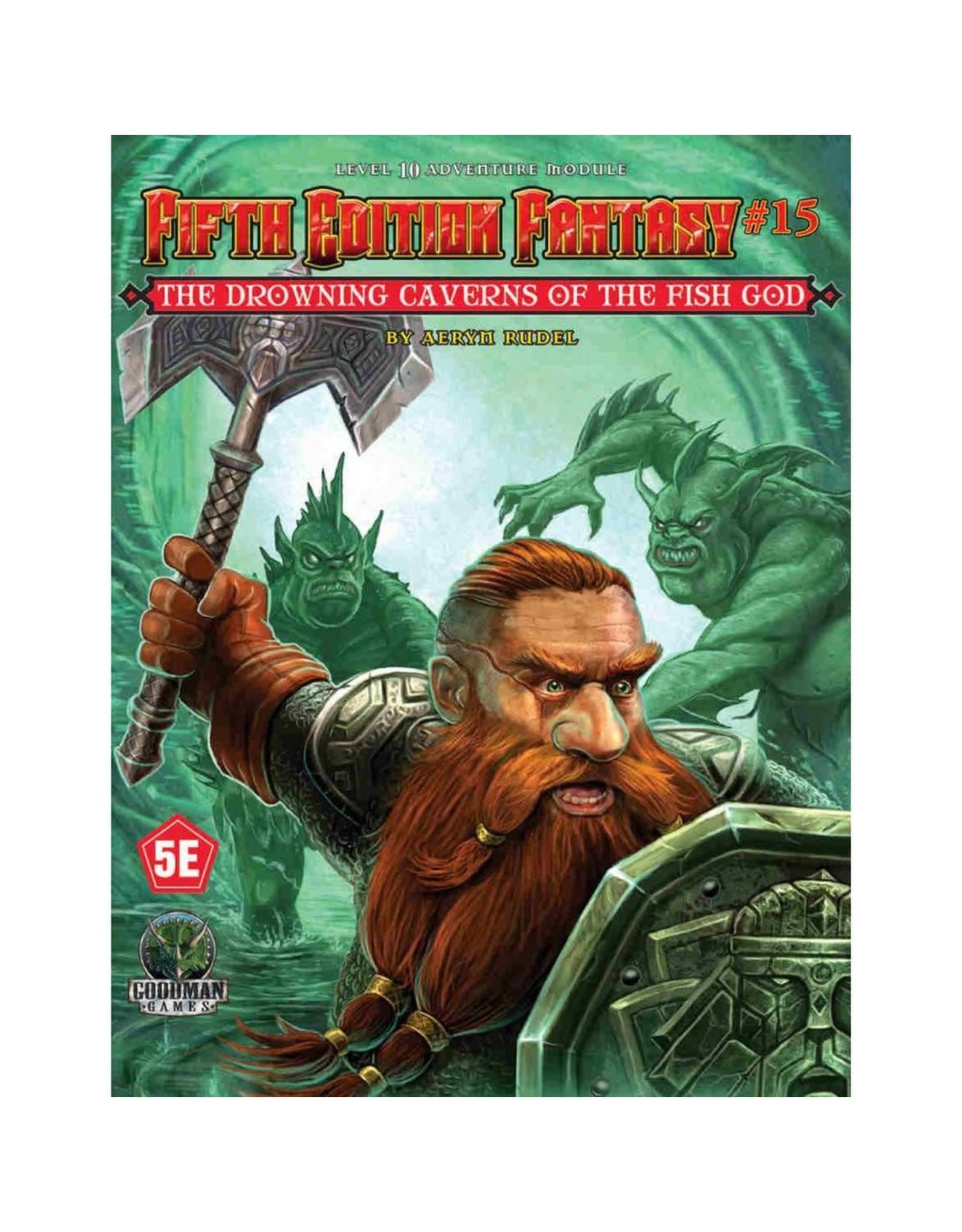 Goodman Games 5th ed Fantasy 8: Drowning Caverns of the Fish God