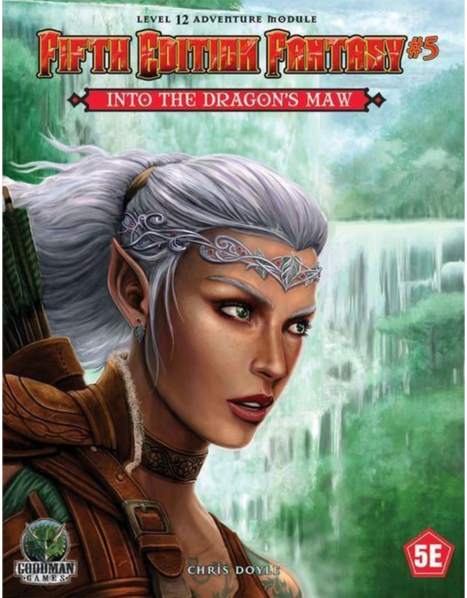 Goodman Games 5th Ed. Fantasy 5: Into the Dragon's Maw