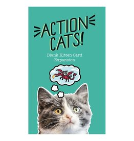 Action Cats! Blank Card Expansion