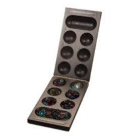 Wood Expressions African Stone Game Mancala - Black