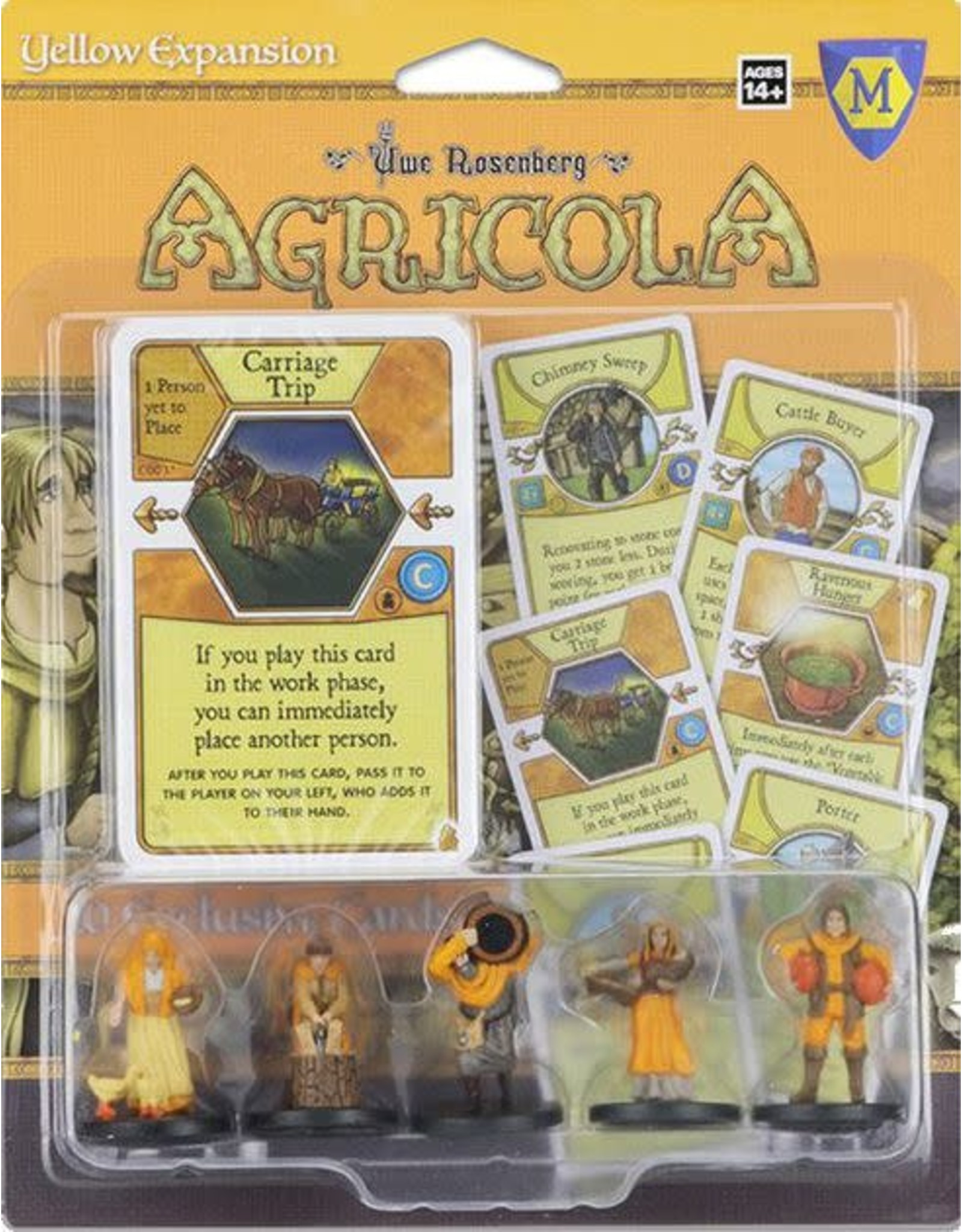 Mayfair Games Agricola Yellow Expansion