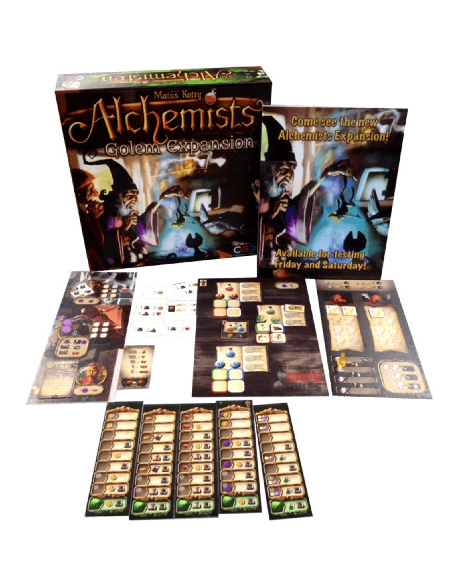 Czech Games Alchemists: The King's Golem Expansion