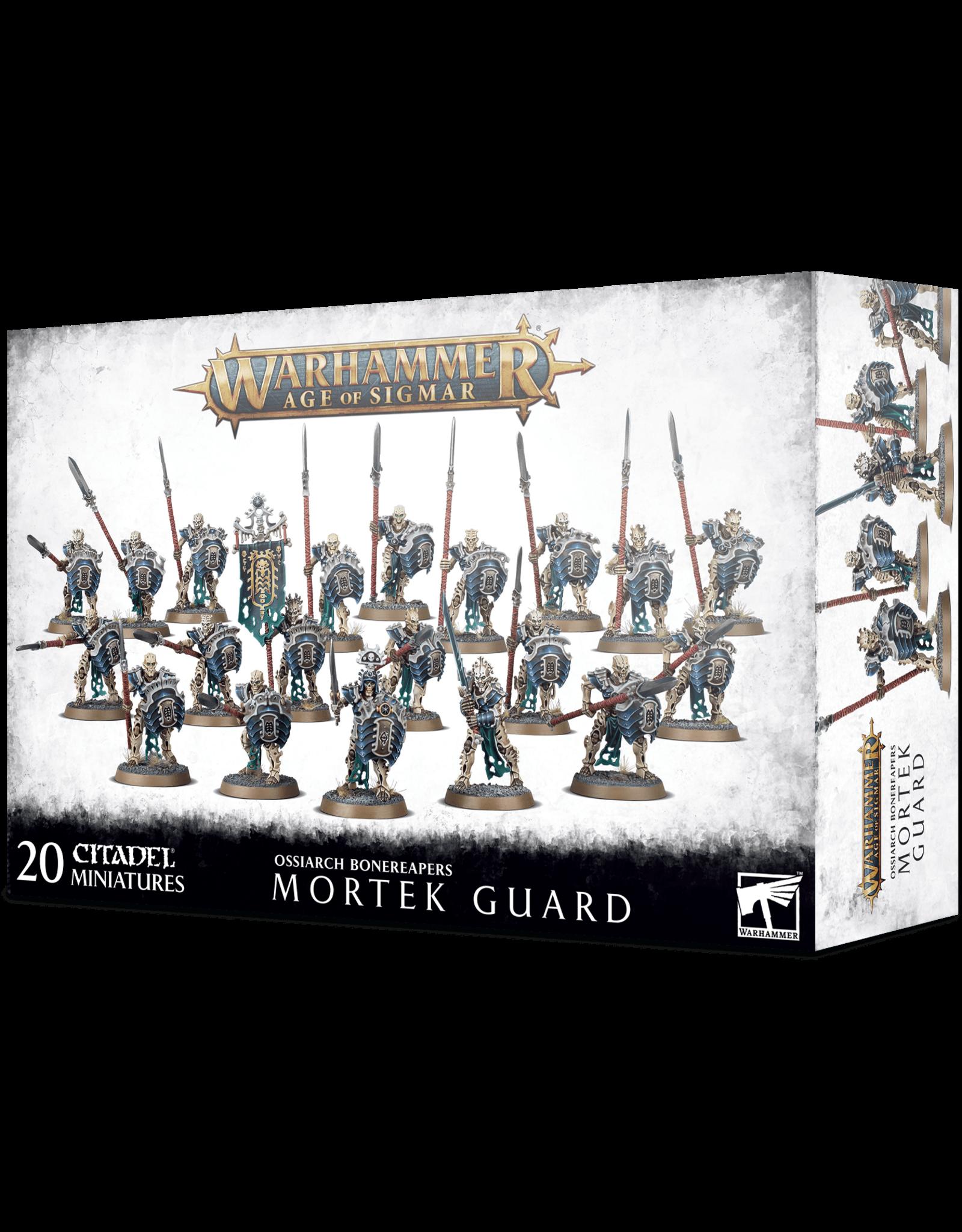 Games Workshop AOS: Mortek Guard