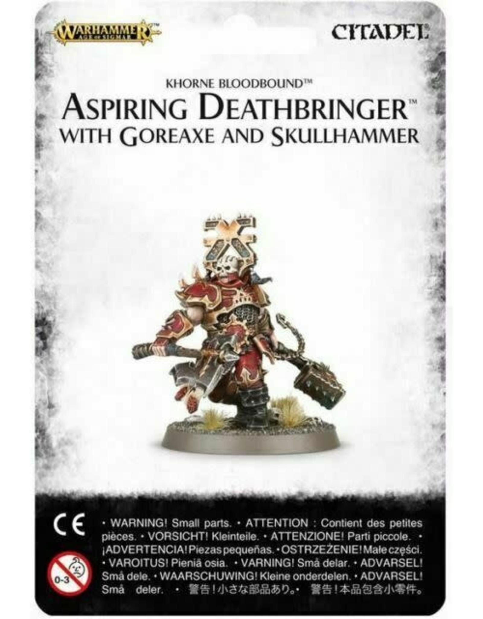 Games Workshop Aspiring Deathbringer with Goreaxe