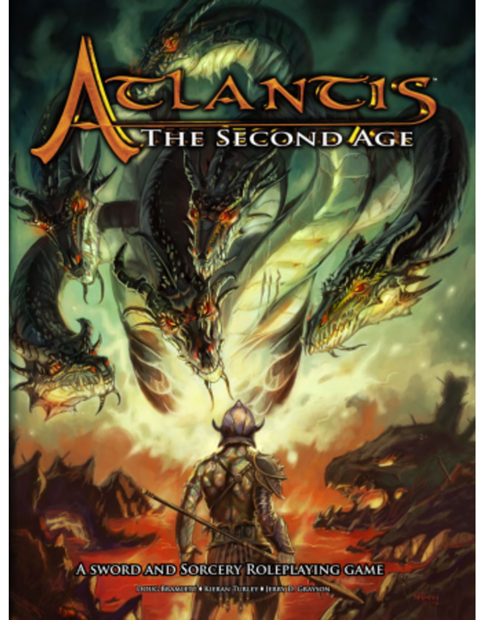 Atlantis - The Second Age RPG: Core Rules Hardcover