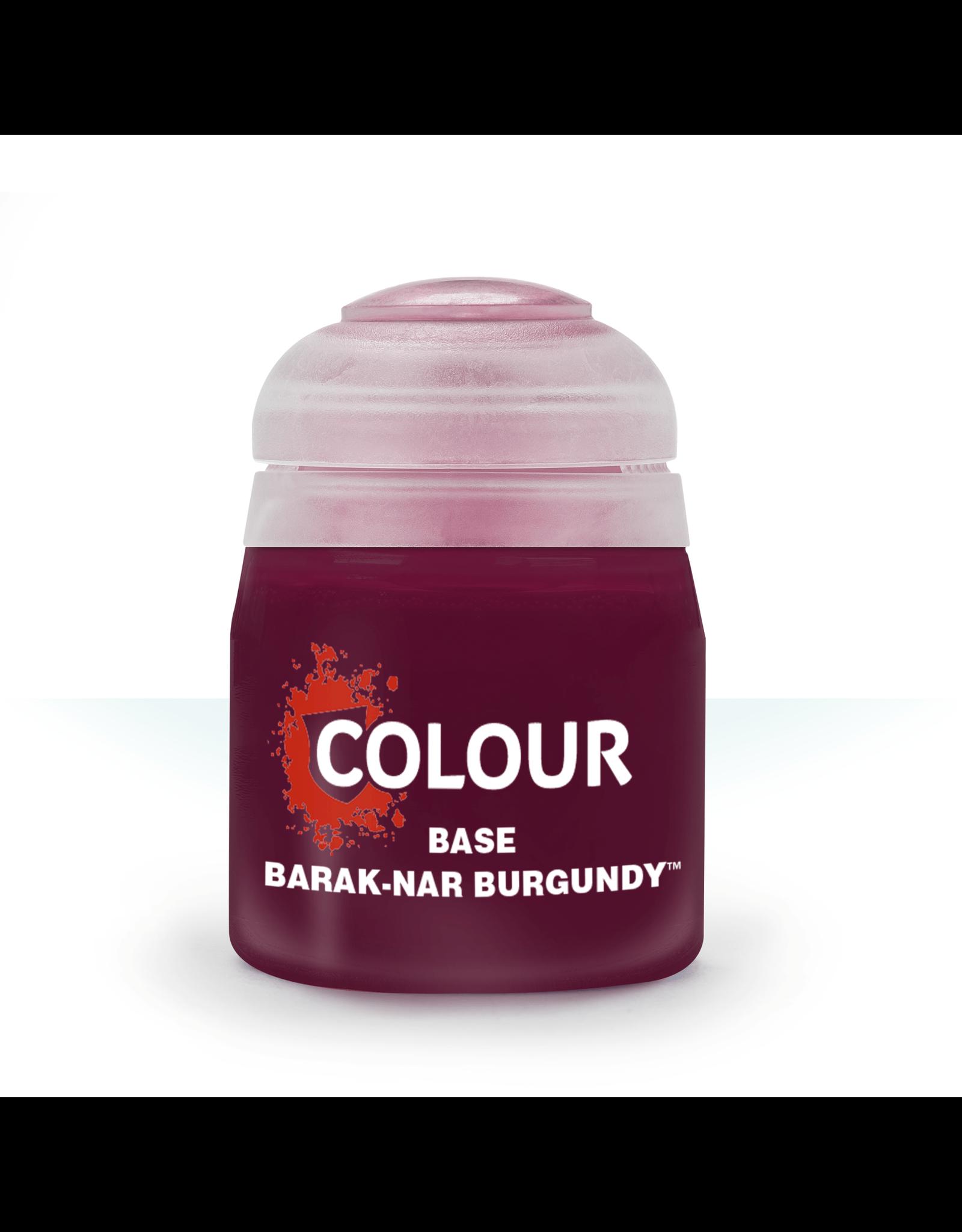 Games Workshop Base: Barak-Nar Burgundy