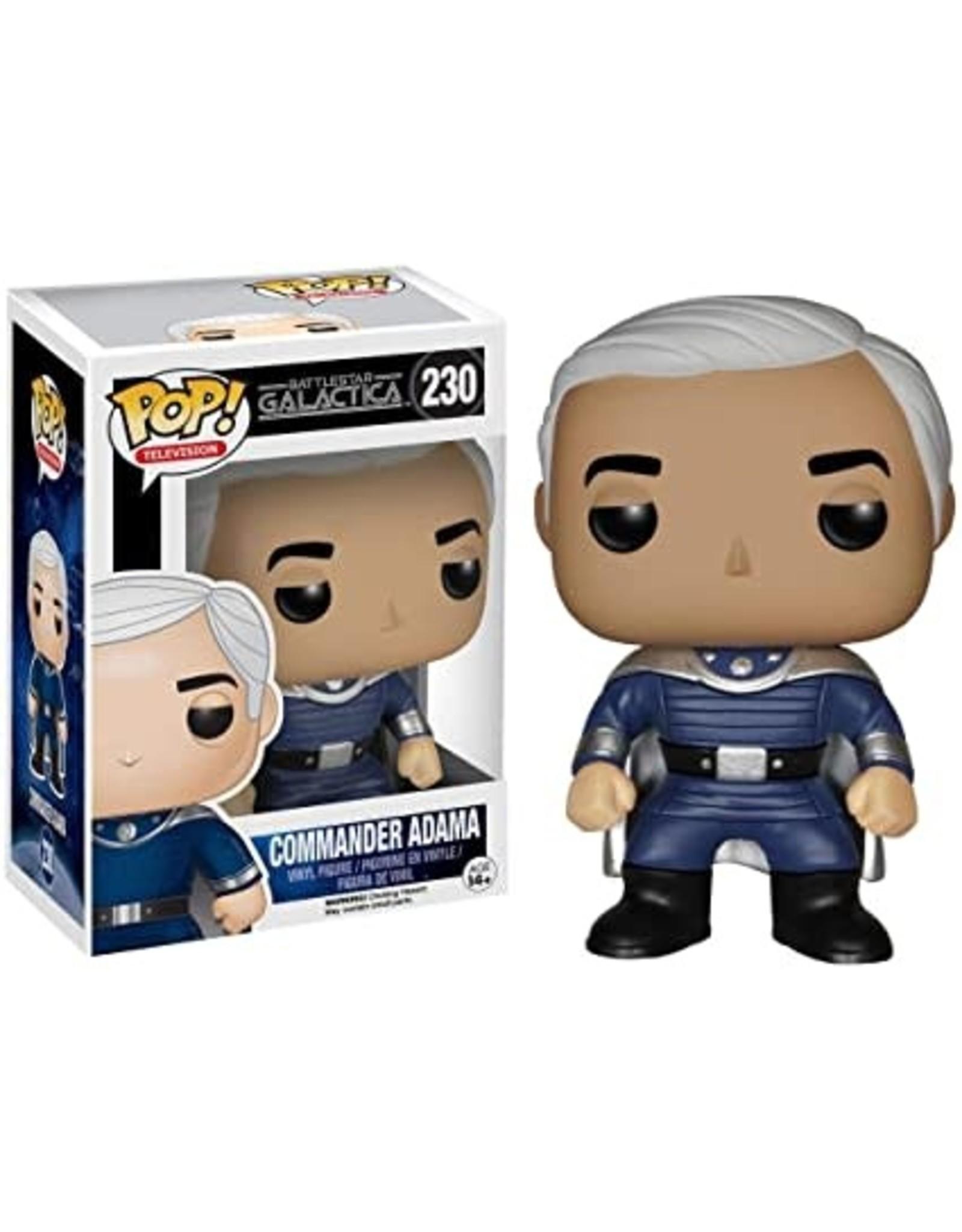 Battlestar Galactica POP Commander Adama