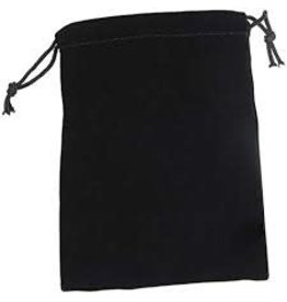 Chessex Black Velour Dice Pouch (small bag)