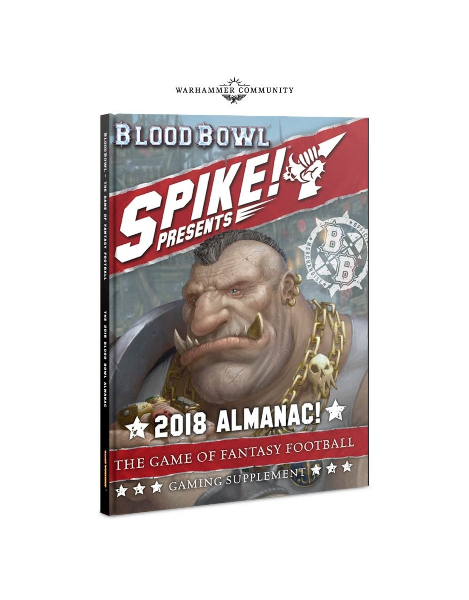 Games Workshop Blood Bowl - Spike! 2018 Almanac