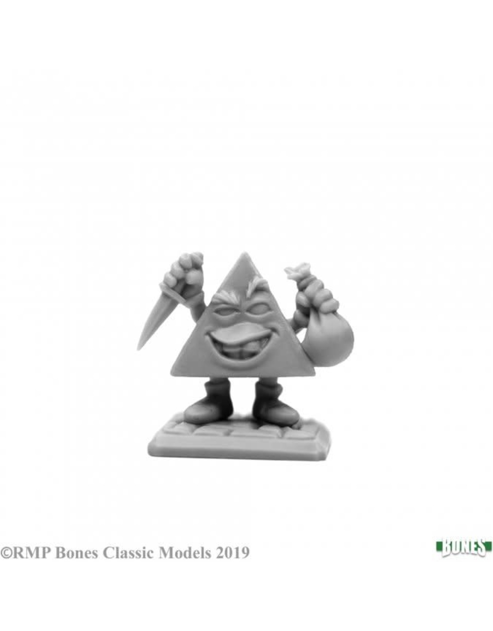 Reaper Miniatures Bones: High Rollers Pyram the Pincher, d4