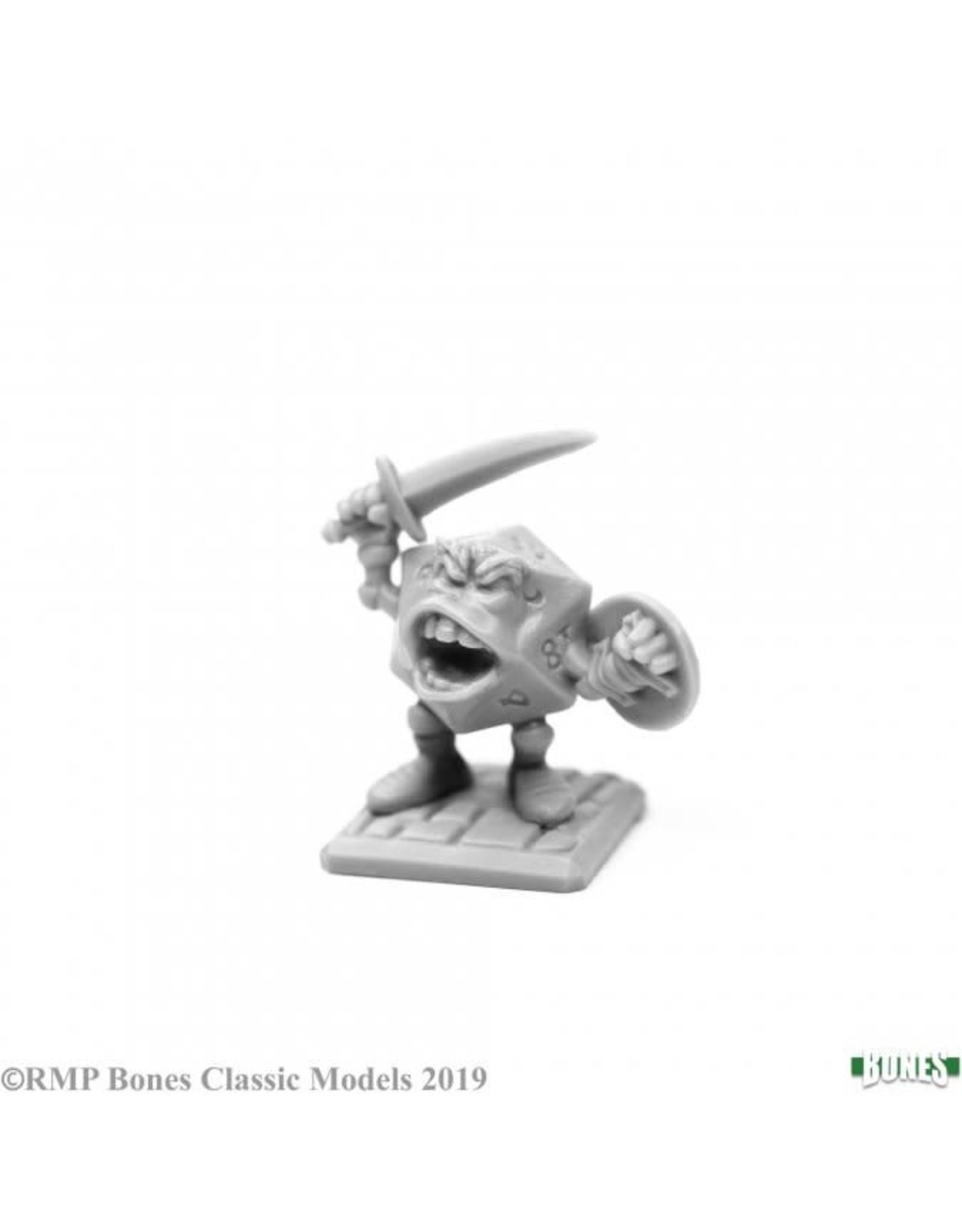Reaper Miniatures Bones: High Rollers Sir Vigintor, d20