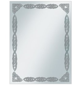 Ultra Pro Borders: Silver Celtic Standard Sleeve Covers 50ct