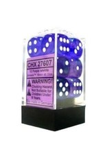 Chessex Borealis 16mm d6 Purple/white (12)