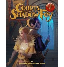 Paizo Dungeons and Dragons RPG: Courts of the Shadow Fey
