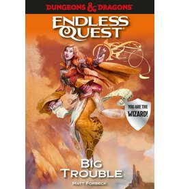 Random House Dungeons & Dragons RPG: An Endless Quest Adventure - Big Trouble (Softcover)
