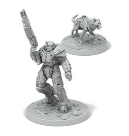 Modiphius Fallout Wasteland Warfare: X-01 Survivor and Dogmeat
