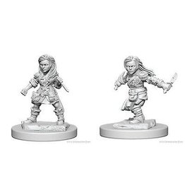 Wizkids D&D Nolzurs Mini: Halfling Female Rogue
