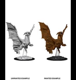 Wizkids D&D Mini Nolzur's Young Copper Dragon
