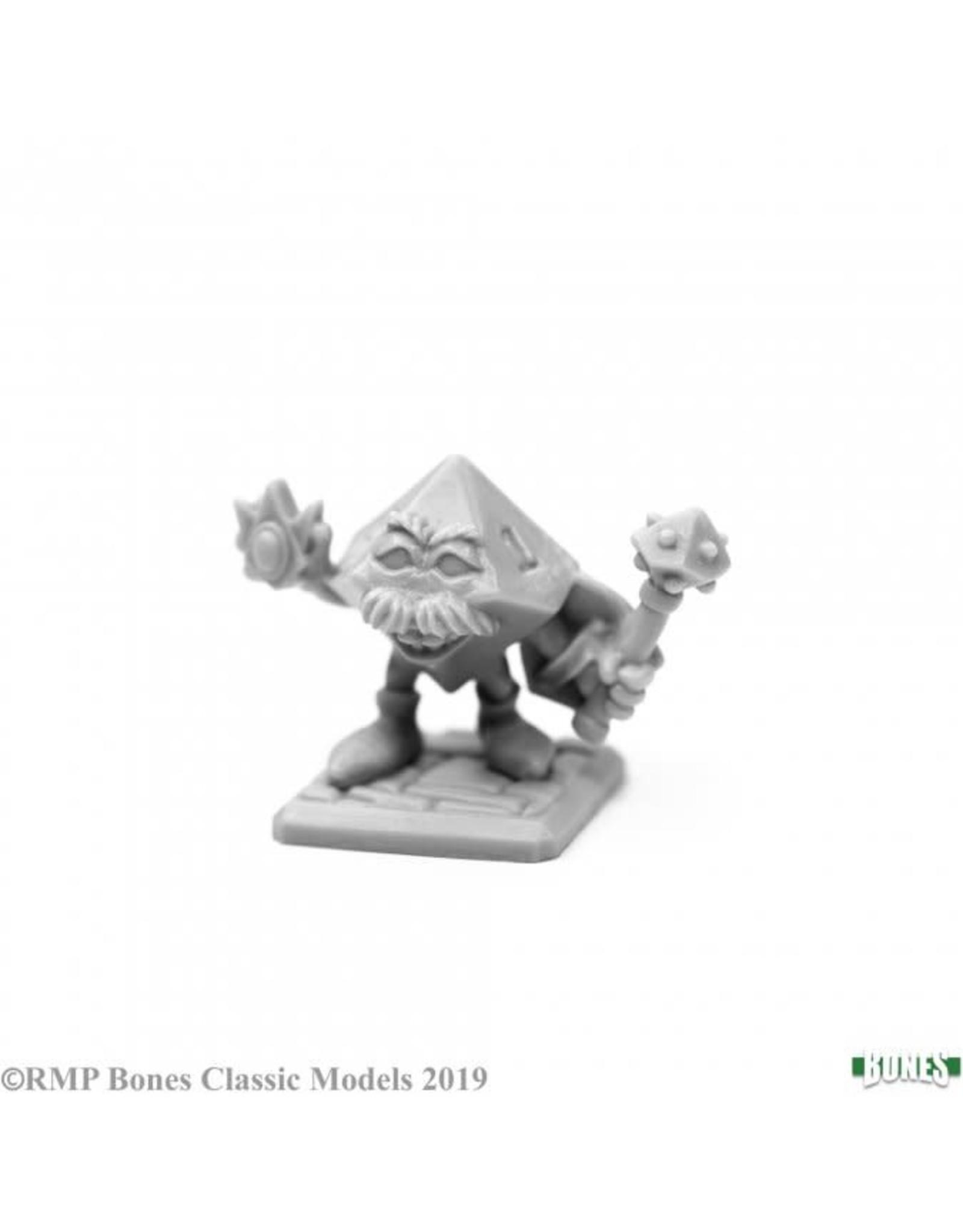 Reaper Miniatures Bones: High Rollers D'Tenian, d10