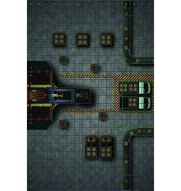 Wizkids HeroClix Premium Map: Warehouse