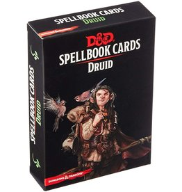 Gale Force Nine D&D 5e Spellbook Cards Druid