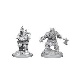 Wizkids D&D Minis Male Dwarf Barbarian