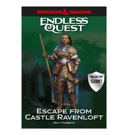 Random House D&D: Endless Quest - Escape from Castle Ravenloft (Hardcover)