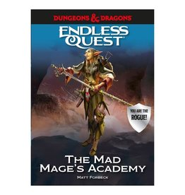 Random House D&D: Endless Quest - Mad Mage's Academy (Hardcover)