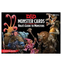 Gale Force Nine D&D: Monster Cards - Volo's Guide to Monsters