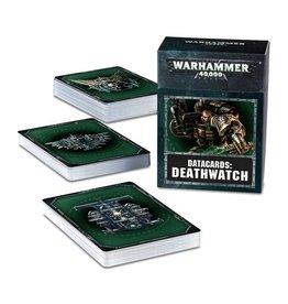Games Workshop Deathwatch Data Cards