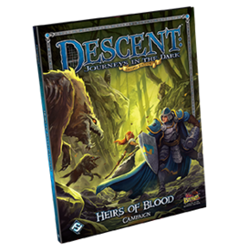 Fantasy Flight Games Descent Journeys in the Dark 2nd Edition: Heirs of Blood Campaign Book