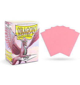 Dragon Shields: (100) Matte Pink