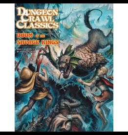 Goodman Games Dungeon Crawl Classics 66.5: Doom of the Savage Kings