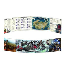 Wizards of the Coast Dungeons and Dragons DM Screen Eberron Rising from the last war