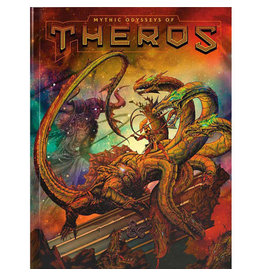 Wizards of the Coast Preorder Dungeons and Dragons: Mythic Odysseys of Theros Alt Cover