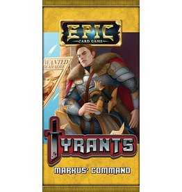 White Wizard Games Epic Card Game: Tyrants Markus' Command