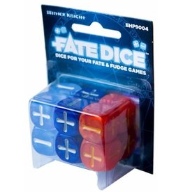 Evil Hat Productions Fate Dice: Dresden Files Winter Knight Dice