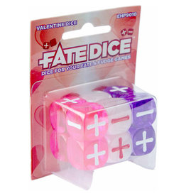 Evil Hat Productions Fate Dice: Valentine Dice